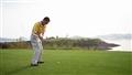 高爾夫球場揮杆