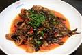 野蔥乾刺魚