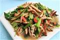 豆干炒青菜