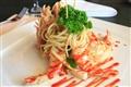 夏威夷大蝦配義麵