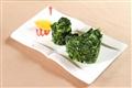 香油萵菜-簡單的烹調,精緻的擺盤,再以香油添風味。