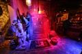 雲泰風格的擺飾隨處可見,入口有濃厚的東南亞氣息。