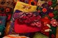 手工縫製可愛零錢包,樣式特別,獨一無二。