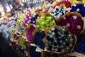 鮮豔多彩的美麗花卉,在吳山夜市也找得到。