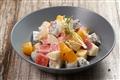 水果沙拉採用當季新鮮水果製成,清爽可口又美味。