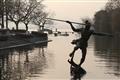水滸傳中的天損星-浪裡白條張順相傳身亡地便是在杭州湧金池。