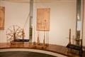 絲綢廳紡織器具展示