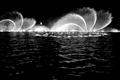 螺旋狀的噴泉景觀
