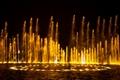 高低錯落的噴泉