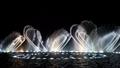 絢麗的噴泉造型