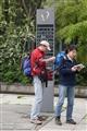 遊客尋找旅遊資訊