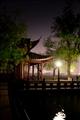 平湖秋月夜景