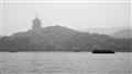 雷峰塔與遊船
