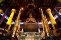 大雄寶殿主供的毘盧遮那佛