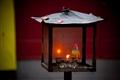 燈亭造型點香蠋台