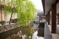 主展館迴廊水池