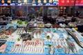 琳瑯滿目的海產展示區