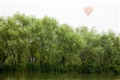 水道景觀與熱汽球