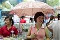 店員介紹傘具