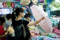 顧客挑選傘具