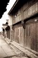 古民居木房街景